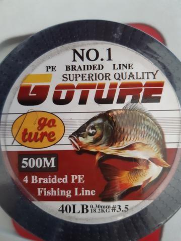 Vendo linha de pesca multifilameto