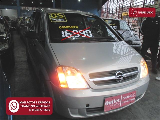 Chevrolet Meriva 1.8 mpfi 8v flex 4p manual - Foto 5