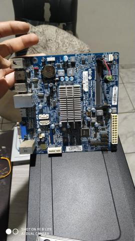 Placa mãe DDR3 com processador Intel celeron - Foto 2