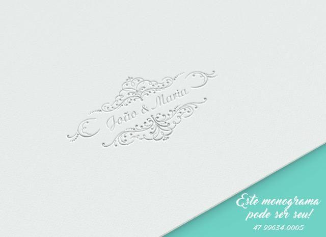 Monograma para Casamento, Batizado, Aniversário, Festas - Foto 4