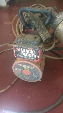Vendo compressor profissional completo - Foto 2