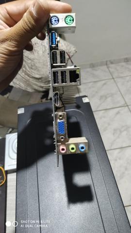 Placa mãe DDR3 com processador Intel celeron