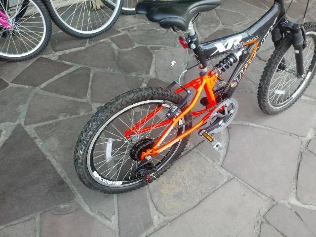 Bicicleta aro 20 com Suspensão ( Produto Semi Novo ) - Foto 6