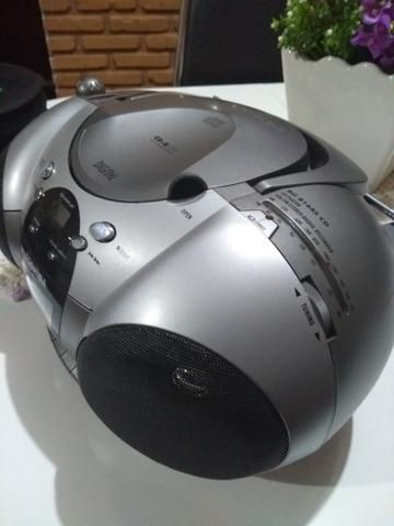 Rádio toca CD Toshiba - Foto 2