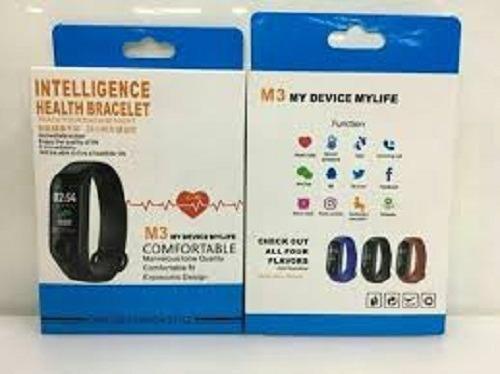 O.melhor.preço.Aqui-Smart Band M3 Pressão Arterial Bracelete Fitness - Foto 3
