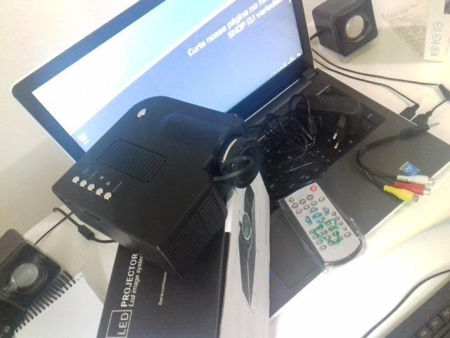 Mini projetor 80 polegadas videos fotos - Barato - Foto 4