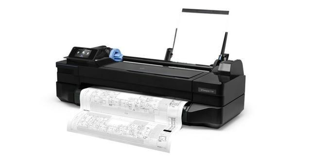 Plotter HP T120 - Foto 2