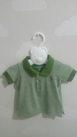 Camisa polo reserva infantil | camisa de bebê | camisa de botão | camisa top