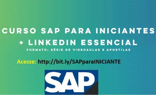 Curso On Line de SAP/R3 + Linkedin - Emprego dos sonhos em 47 dias!!!