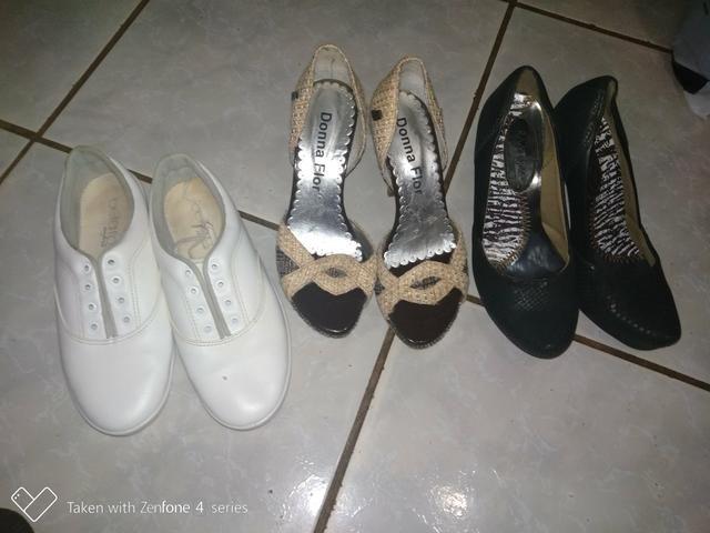 9e315375c Lote de roupas e sapatos - Roupas e calçados - Santa Maria, Brasília ...