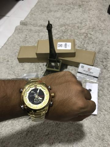 Relógio Naviforce original estilo militar a pronta entrega