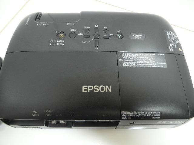 Projetor Epson S6+ S6 2200 Lúmens - Foto 4