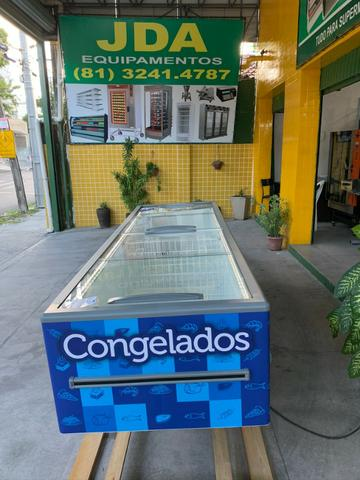 Ilha para supermercados- 2 anos garantia- supermercado, padaria - freezer 3,00m