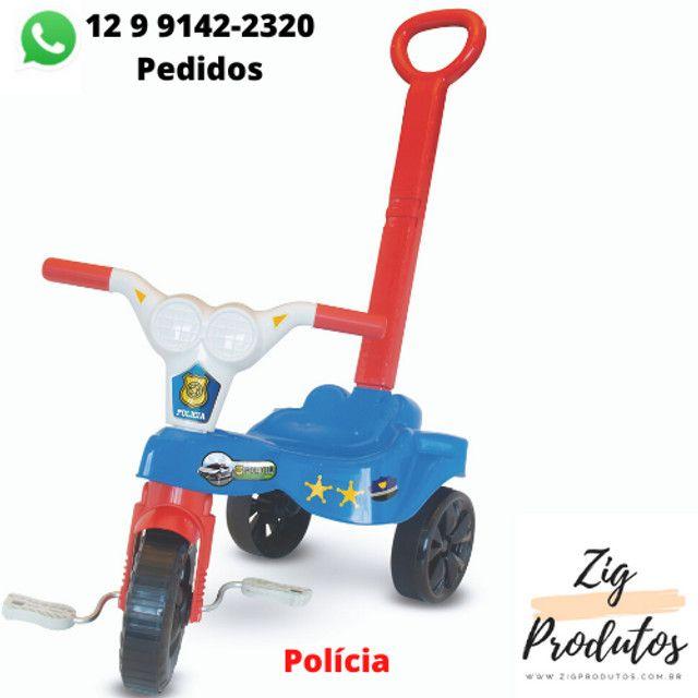 Triciclo Infantil Velocipe Bob Com Empurrador - Promoção Produtos Novos - Foto 5