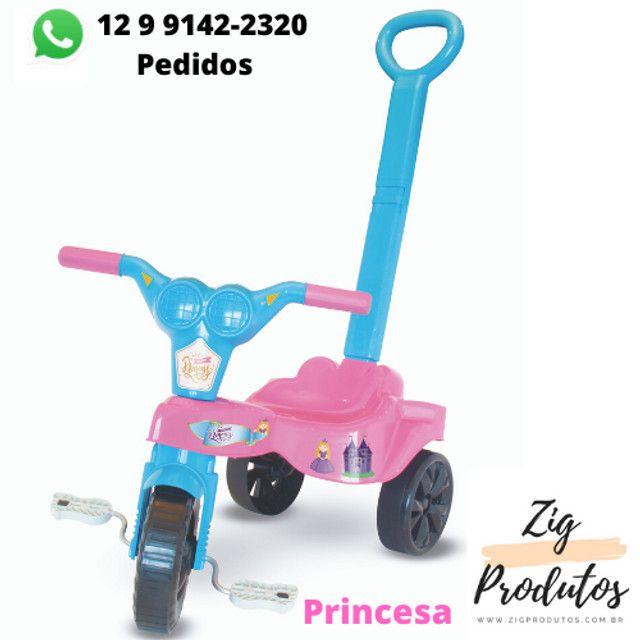 Triciclo Infantil Velocipe Bob Com Empurrador - Promoção Produtos Novos - Foto 4