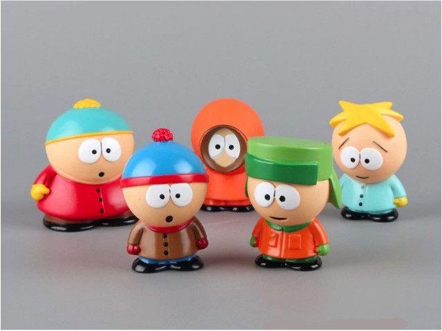 5 Bonecos South Park Eric Kenny Kyle Stan Action Figure - Foto 3