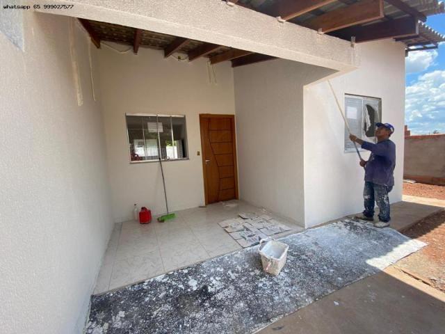 Casa para Venda em Várzea Grande, Colinas Verdejantes, 2 dormitórios, 1 banheiro, 2 vagas - Foto 2