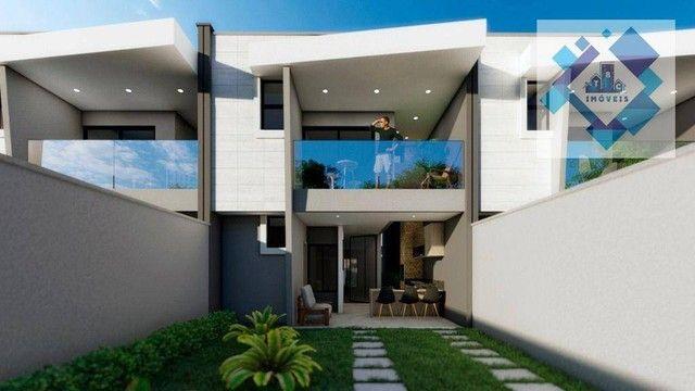 Casa com 4 dormitórios à venda, 137 m² por R$ 440.000,00 - Centro - Eusébio/CE - Foto 2