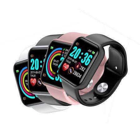 Y68/D20 Smartwhatch Relógio Inteligente