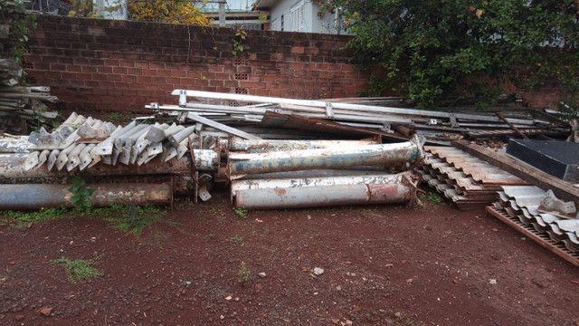 galpão desmontado telhado aluminio - Foto 4