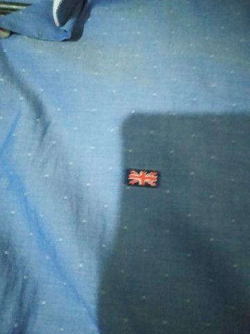 Camisa England social masculina - Foto 2