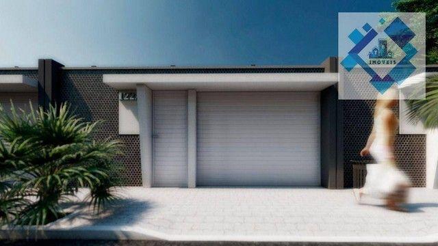 Casa com 4 dormitórios à venda, 137 m² por R$ 440.000,00 - Centro - Eusébio/CE - Foto 6