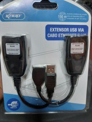 Extensor USB  via RJ45  - Foto 3