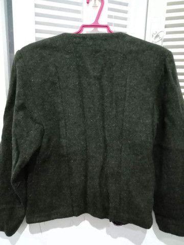 Casaco de lã Tam P/M - Foto 2