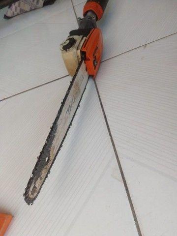 Vendo uma rocadeira stihl de polda,bem barato - Foto 4