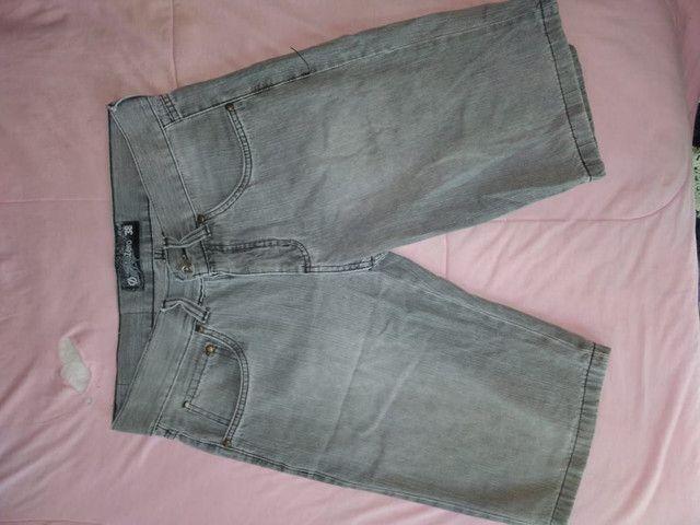 Calção jeans