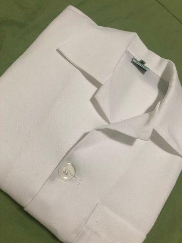 Jaleco branco nunca usado - Foto 3