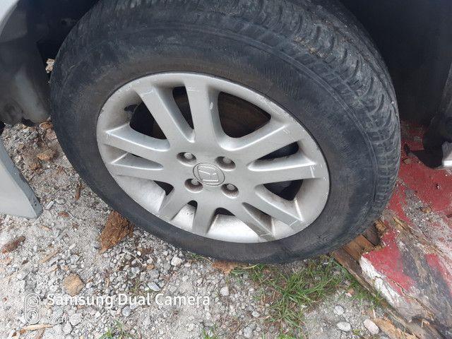 4 pneus com aros 15 Honda Civic