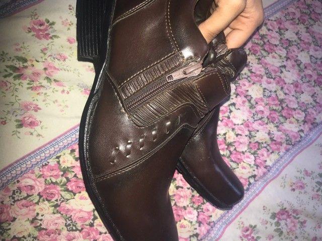 bota de couro