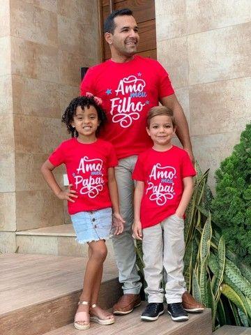 Camisa Dia dos pais Entrega grátis  - Foto 4