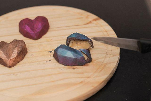 Corações de chocolate - Foto 3