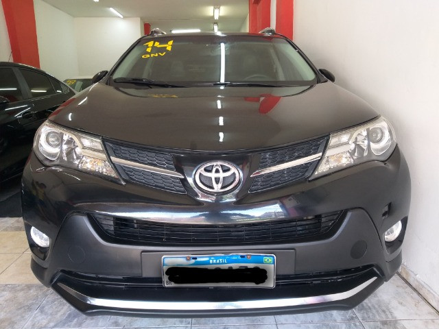 Toyota RAV4 Top 4X4 GNV troco e financio aceito carro ou moto  - Foto 3