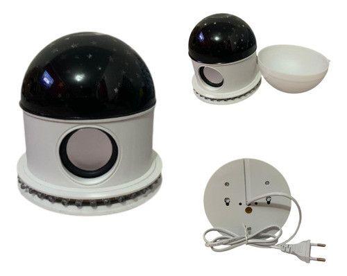 Luminaria Abajur Led Bluetooth Projetor Globo Estrela Festa - Foto 2