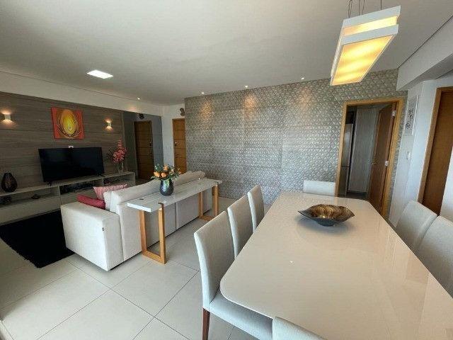 Ótimo apartamento no Residencial Alfredo Volpi, Bessa, 3 suítes + DCE, com linda vista  - Foto 8