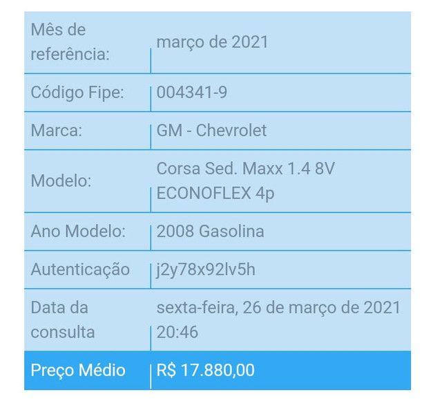 Corsa Maxx 1.4 Completo - GNV  - Foto 9