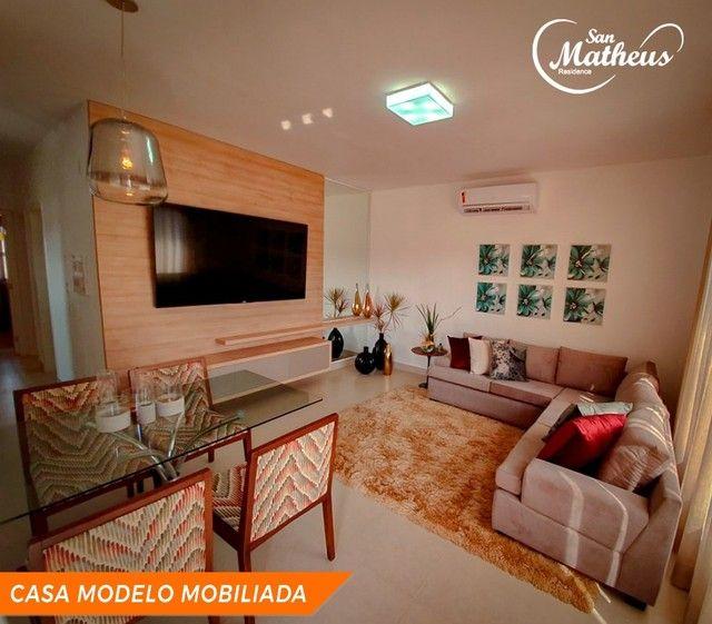 Residencial San Matheus: casa nova de 3 quartos com amplo quintal - Foto 8