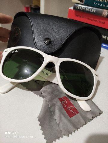 Óculos de Sol Ray Ban Original Wayfarer  RB2140 - Muito pouco usado - Foto 3