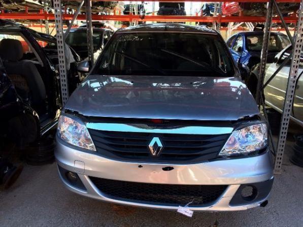 Peças usadas Renault Logan 2013 2013 1.0 16v flex 77cv câmbio manual
