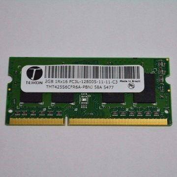 Memoria 2 GB Teikon PC3L 1RX16 para notebook