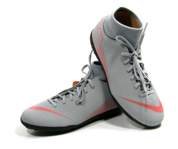 4f9d44279d4bc Chuteira Nike Superflyx 6 Club DF Society Cinza adulto tam 38 a 43 ...