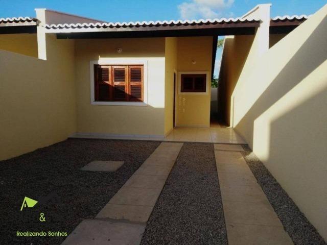 Casas de 2 quartos com melhor preço da região e acabamento diferenciado!!