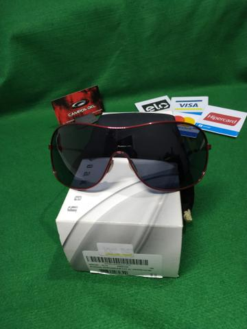 Oakley collected cayenne red lentes grey - Foto 3