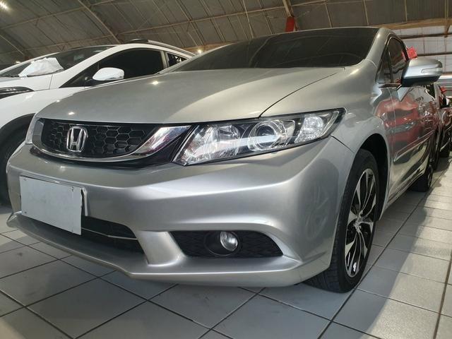 Honda civic 2015 lxr 2.0 automático extra top aceito troca - Foto 2