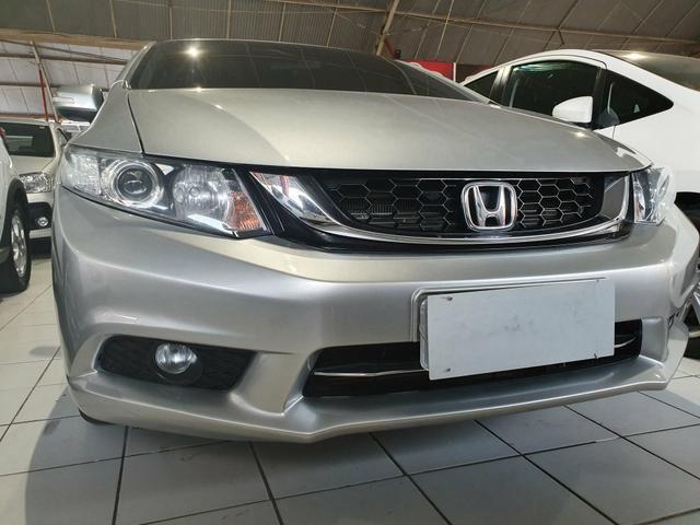 Honda civic 2015 lxr 2.0 automático extra top aceito troca - Foto 3