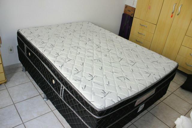 Cama box casal ( box e colchão) - Foto 2