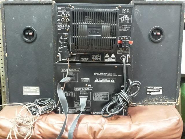 Micro System jvc MX-S4 com Caixas - Foto 4